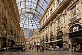 Galleria Vittorio Emanuele II. Milan. Lombardy. Italy.