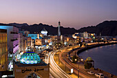 Oman. Muscat City. Mutrha District. Dhow Bay