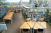 Rovaniemi Library, designed by Alvar Aalto. Rovaniemi. Finland