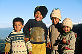 Children. Himalaya. Nepal.