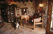 Rural tourism house La Abadía de Samitier (siglo XVI). Near Ainsa. Huesca province. Aragon. Pyrénées. Spain.