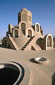 Ventilation towers. Borujerdi house. Kashan. Iran.