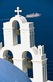 Agios Minas Church. Firostefani. Santorini. Cyclades. Greece