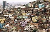 Poor suburban district. Cerro del Carmen. Guayaquil. Guayas province. Ecuador
