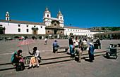 Iglesia de San Francisco. San Francisco square. Quito. Ecuador
