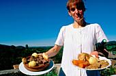 Gastronomy. Saint Bertrand de Comminges. Haute Garonne. France