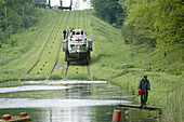 Buczyniec ramp. Ostroda- Elblag Canal. Poland