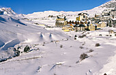 Ski resort in Candanchú. Canfranc valley. Huesca Province. Aragón. Spain