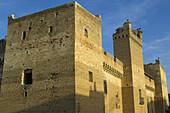 Marcilla castle, XVth century, built by Pierres de Peralta. Marcilla. Navarra. Spain.