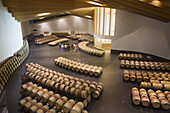 Bodegas Ysios. By Santiago Calatrava. Guided visit. Laguardia, Rioja alavesa. Alava. Euskadi, Spain