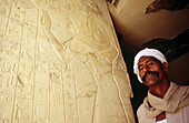Noble tomb. Valley of the Kings. Luxor. Egypt.