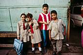 School children. Cairo. Egypt.