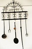 Old kitchenware. San Telmo museum. San Sebastian, Guipuzcoa. Basque Country, Spain
