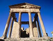 Roman ruins. Dougga. Tunisia.