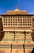 Lodurva Jain Temple in Jaisalmer. Rajasthan, India.