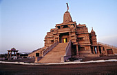 Jain Temple. Vilholi. Nashik. Maharashtra. India.