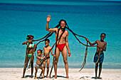 Rasta man. Saint Thomas. U. S. Virgin Islands
