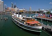 The restaurant ship South Steyne in Darling Harbour. Sydney. Australia