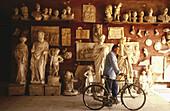Marble atelier. Pietrasanta. Italy