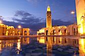 The Big Mosque. Casablanca. Morocco.