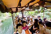 Disneyland Hong Kong, adventure River. Hong Kong. China.