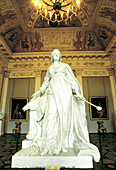 Statue of Catherine the Great at Russian Museum in Michaelovsky Palace. St. Petersburg. Russia