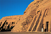 The two temples. Abu Simbel. Egypt