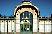 Jugendstil Karlsplatz Café, architect Otto Wagner. Vienna. Austria