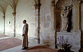 Bec-Hellouin Abbey. France