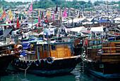 Aberdeen harbour. Hong Kong. China