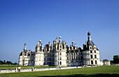 Chambord Castle. Loire. Val-de-Loire. France
