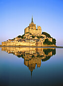 Mont St. Michel. Normandy. France
