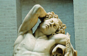 Bernini masterpiece sleeping fauna. Glyptothek Museum. Munich (Munchen). Bavaria. Germany