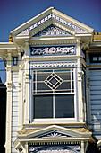 Victorian house nicknamed Painted lady . San Francisco. California. USA.