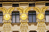 Apartments building in the Wienzeile, architect Otto Wagner. Vienna. Austria