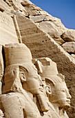 Ramses II Temple on Lake Nasser bank. Abu Simbel. Nubia. Egypt