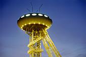 Colani Ei Science Park, UFO, Lünen, Ruhr Valley, Ruhr, Northrhine Westphalia, Germany