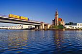 Old Port Authority, City Harbour, Dortmund, Ruhr Valley, Ruhr, Northrhine Westphalia, Germany
