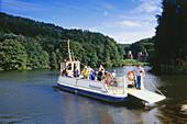 Hardenstein Ferry, Witten Herbede, Ruhr Valley, Ruhr, Northrhine, Westphalia, Germany