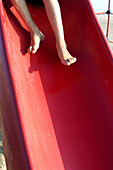 Activity, Amusement, Anonymous, Barefeet, Barefoot, Child, Childhood, Children, Color, Colour, Concept, Concepts, Contemporary, Daytime, Exterior, Feet, Foot, Fun, Holiday, Holidays, Human, Infantile, Kid, Kids, Leg, Legs, Leisure, Motion, Movement, Movi