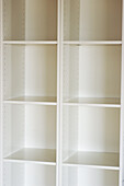Arrangement, Cabinet, Cabinets, Closet, Closets, Color, Colour, Concept, Concepts, Cupboard, Cupboards, Detail, Details, Empty, Indoor, Indoors, Inside, Interior, Order, Room, Roomy, Shelf, Shelves, Shelving, Space, Spacious, Square, Squares, Vertical, W