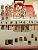 Accessories, Accessory, Close up, Close-up, Closeup, Color, Colour, D i y, Detail, Details, DIY, Do it yourself, Do-it-yourself, Drill, Drill bit, Drill bits, Drilling, Drills, Indoor, Indoors, Industrial, Industry, Inside, Interior, Measure, Measurement