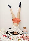 l-body, Full-length, Fun, Girl, Girls, Grin, Grinning, Handstand, Handstanding, Happy, Home, Human, I