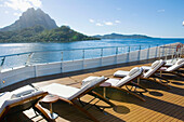 Cruise on the luxury 30 cabins yacht Tia Moana . Leeward islands. French Polynesia . South pacific