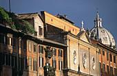 Piazza Navona façades. Rome. Lazio. Italy.