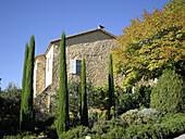 Alain Ducasse s La Bastide de Moustiers hotel and restaurant, Moustiers-Sainte-Marie. Alpes de Haute-Provence, Provence, France