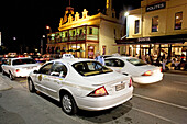 Saturday night nightlife on Rundle street. Adelaide. South Australia. Australia