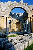 Saint Simeon early christian basilica located near Aleppo. Syria