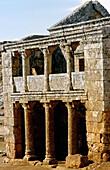 Ruins of Sergilla, one of 700 dead cities on limestone plateau, Roman-Byzantine origin (4th-7th century). Syria