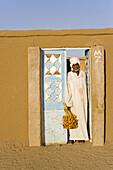 Freshly cropped dates, Nubian village of Soleb. Upper Nubia, ash-Shamaliyah state, Sudan